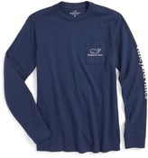 Vineyard Vines Boy's Vintage Whale Graphic Long Sleeve T-Shirt