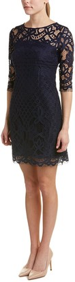 Taylor Dresses Women's Braclet Sleeve Lace Sheath Dress