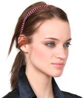 Plume Pink Feather Headband