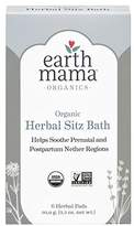 Earth Mama Angel Baby Earth Mama Organic Herbal Sitz Bath for Pregnancy and Postpartum, 6-Count