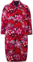 Comme des Garcons floral print coat
