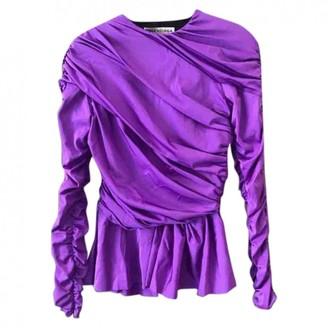 Balenciaga Purple Cotton Top for Women