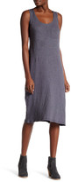 Allen Allen Pocket Slub Tank Dress