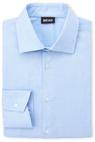 Just Cavalli Blue Dress Shirt