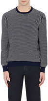 Luciano Barbera MEN'S STRIPED CASHMERE SWEATER