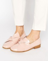 Asos MAXIMUM Knotted Flat Shoes