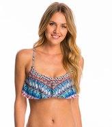 Red Carter Navajo Dream Flounce Bikini Top 8145701
