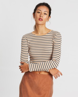 Nude Lucy Haines Stripe Long Sleeve Tee