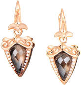 Stephen Webster Silver 0.13 Ct. Tw. Diamond & Gemstone Earrings