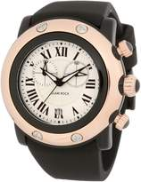 Glam Rock Women's Miami Beach Chronograph Dial Black Silicone Watch GLAMROCK-GW25130