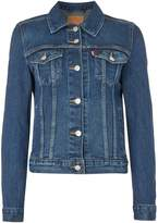 Levi's Origional Trucker Jacket In Lust For Life