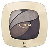L'Oreal Color Riche Eye Shadow Quad - E4 Marron Glace - Pack of 6