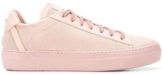 Fabi perforated low-top sneakers