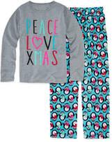 Total Girl Christmas Penguin Pajama Set - Girls 7-16