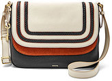 Fossil Peyton Colorblocked Cross-Body Bag