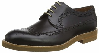 Lottusse Men's T2470 Brogues Black (Duck Negro Duca Negro) 9.5 UK