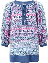 Monsoon IMMY IKAT PRINTED KAFTAN