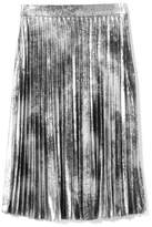 Vince Camuto Metallic Pleated Skirt