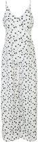 Fleur Du Mal Bias star print jumpsuit - women - Silk - S