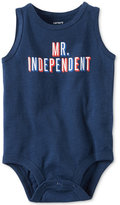 Carter's Mr. Independent Cotton Bodysuit, Baby Boys (0-24 months)