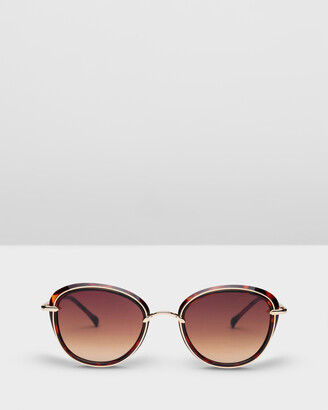 Carolina Lemke Berlin - Women's Brown Retro - CL1776 SG OPT 04 - Size One Size at The Iconic