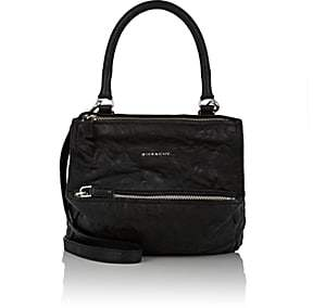 Givenchy Women's Pandora Pepe Small Leather Messenger Bag - Black