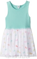 Splendid Littles Always Butterfly Print Tulle Dress Girl's Dress