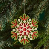 Bloomingdale's Layered Glitter Snowflake Ornament - 100% Exclusive
