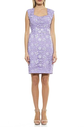 Alexia Admor Brynne Lace Cap Sleeve Dress