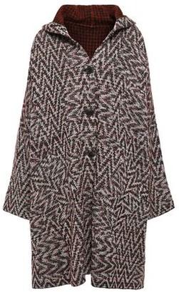 Missoni Reversible Jacquard-knit Hooded Coat