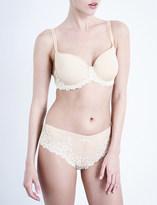 Wacoal Embrace Lace jersey and stretch-lace contour bra