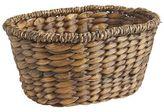 Pier 1 Imports Carson Espresso Wicker Oval Basket