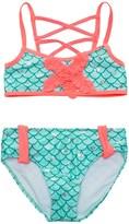 Jantzen Little Mermaid Bikini Set - UPF 50+ (For Big Girls)