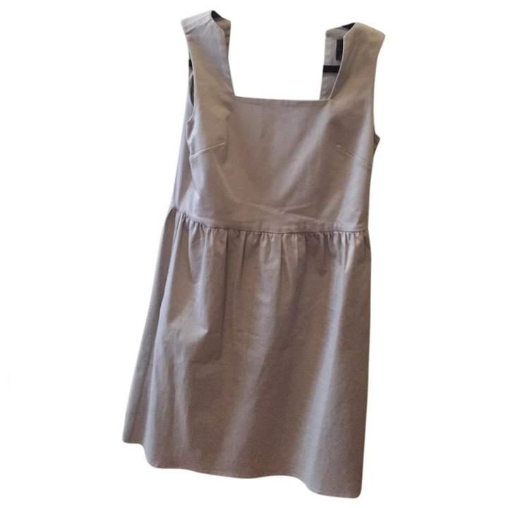 Hotel Particulier Ecru Cotton Dress for Women