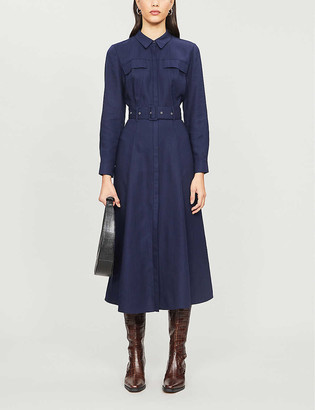 Whistles Military lyocell dress