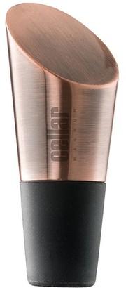 Cellar Magnum Wine Bottle Stopper Black & Copper