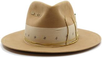 Nick Fouquet x Rochas Embellished Felt Hat