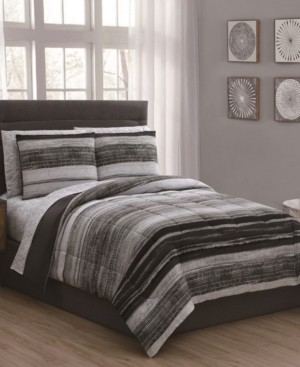Geneva Home Fashion Laken 7-Pc Queen Bed in a Bag Bedding