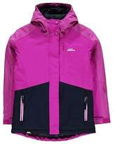 No Fear Kids Girls Powder Ski Jacket Coat Top Long Sleeve Hooded Zip Full Warm