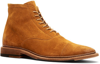 Frye Paul Lace-Up Suede Boot