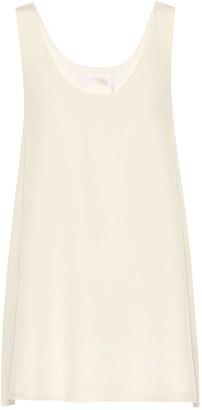 Chloé Silk crepe tank top