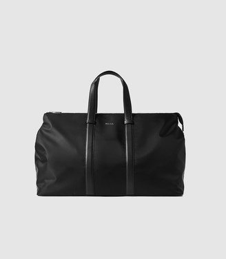 Reiss Cole - Nylon Weekend Holdall in Black