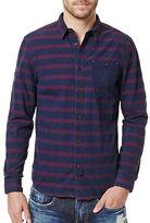 Buffalo David Bitton Sivilt Textured Striped Shirt