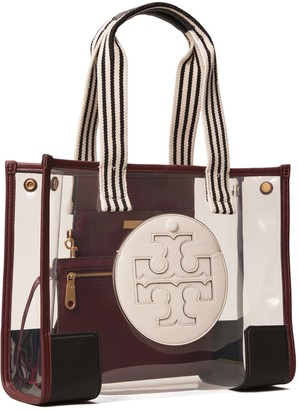 Tory Burch Ella Clear Mini Tote