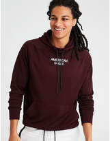 American Eagle AE Active Graphic Hoodie Tee