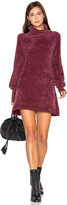 Free People New Moon Chenille Tunic Sweater