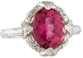 Jude Frances 18K Tourmaline & Diamond Cocktail Ring