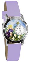 Whimsical Watches Women's S0220002 Fairy Lavender Leather Watch