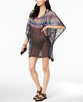 Bar III Magic Touch Printed Tunic Cover-Up, Created for Macy's Women's Swimsuit