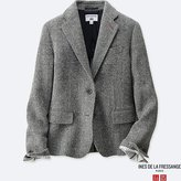 Uniqlo Women's Idlf Tweed Jacket